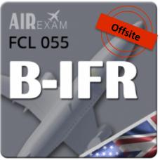 Examen FCL 055 B-IFR (Offsite)