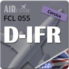Examen FCL 055 D-IFR (Corse)