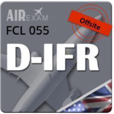Examen FCL 055 D-IFR (Offsite)