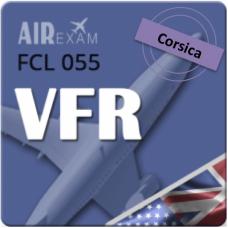 Examen FCL 055 VFR (Corse)