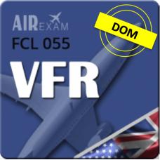Examen FCL 055 VFR (DOM)