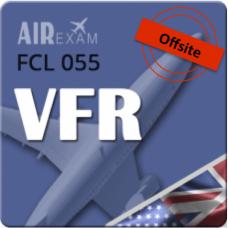 Examen FCL 055 VFR (Offsite)