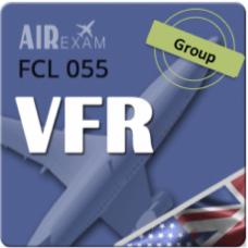 Examen FCL 055 VFR (Offsite Groupe)