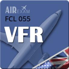 Examen FCL 055 VFR